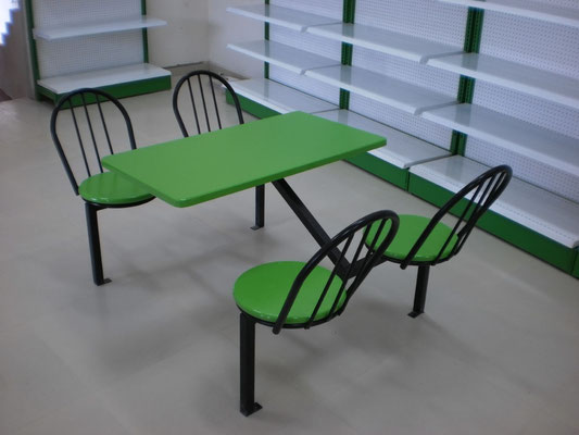 Mesa para tienda