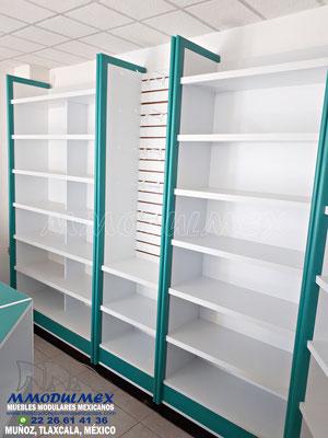 Muebles para papelería, anaqueles para papelería, estantes para papelería