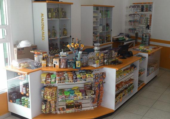 Mostrador para tienda de conveniencia tipo Oxxo