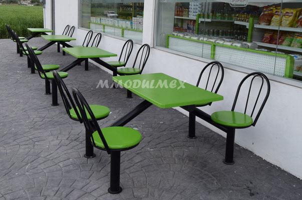Mesas para tiendas oxxo