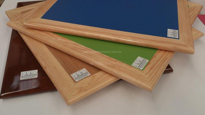 Cubiertas para mesas, cubiertas para mesas de madera