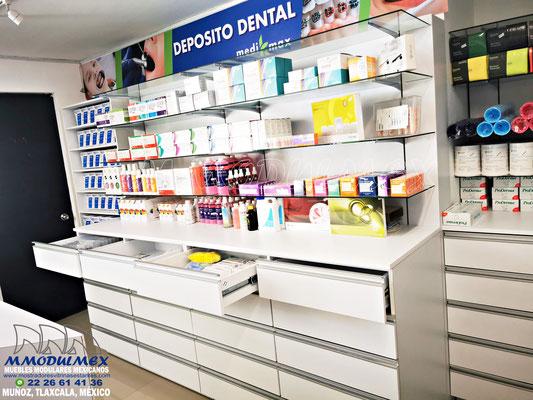 Cajoneras para medicamentos, cajoneras para farmacias, muebles para medicamento controlado, cajoneras de madera para farmacias