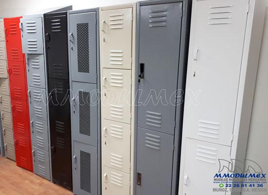 lockers metálicos especiales
