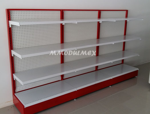 Estantes metálicos, anaqueles metálicas, góndolas metálicas, entrepáños metálicos, repisas metálicas