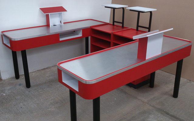 Muebles de caja tipo check out