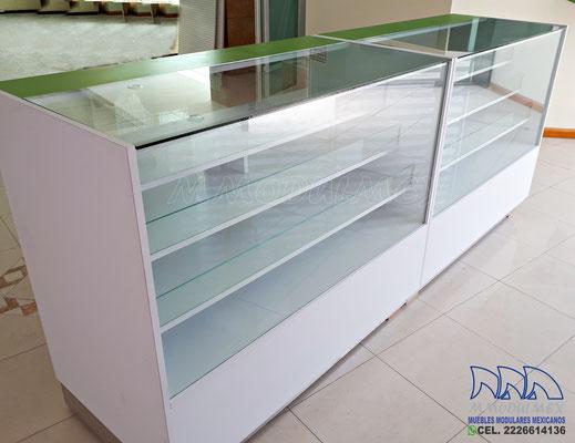 Mueble para farmacia, mostrador para farmacia, vitrina para farmacia
