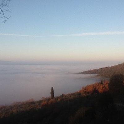Nebbia sul Valdarno