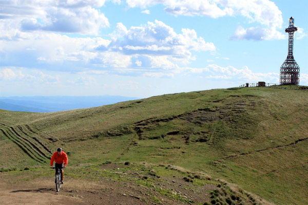 Mountain bike sul Pratomagno
