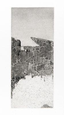 Sans titre, aquatintes, 12x29cm