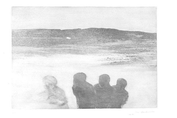 Aquatinte, 35 x 50 cm
