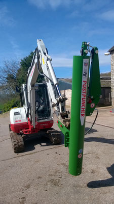 Great combination PP2 on an excavator