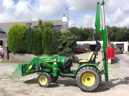 PPd for the smaller tractor or excavator