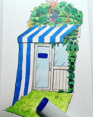 ガーデン ガーデンデザイン 外構 エクステリア 広島 廿日市 ポスト 表札 アプローチ 大竹市 庭
