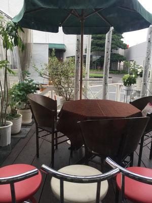店舗前デザイン 広島 廿日市 カフェ おしゃれ 外構 庭 ガーデン ガーデニング デザイン 廿日市 ガーデンデザイナー