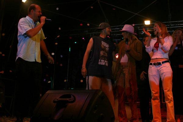 Avec Eve Angeli & Harlem (Star Ac')
