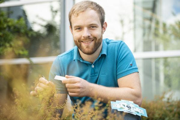 Der Gründer von jot:entdecken, Jonas Otten