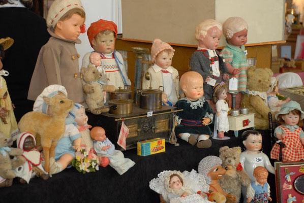 Käthe Kruse- und Schildkröt-Puppen