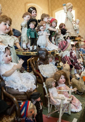 Antike Puppen und  Accessoires