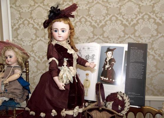 Französische Chevrot-Puppen