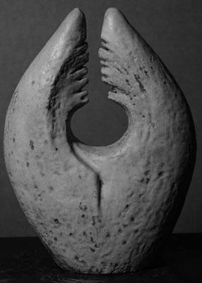 Form glasiert 30 x 30 cm
