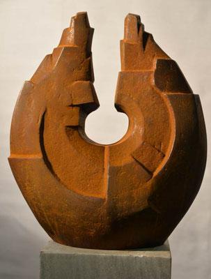 EisenKreislauf -Vollguss35 x 29 cm
