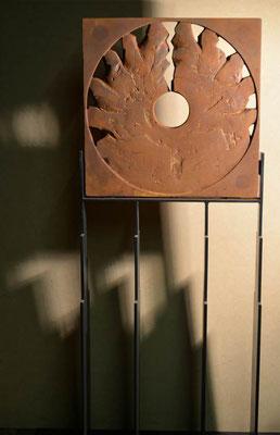 Kreislauf Eisen-Vollguss 220x40 cm