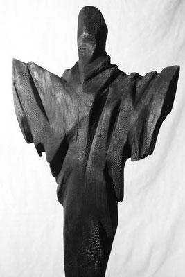 Holz gebrannt 58 x 22 cm