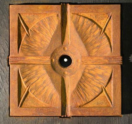 Motiv 4 zu Stele Eisen-Vollguss 28 x 28 cm