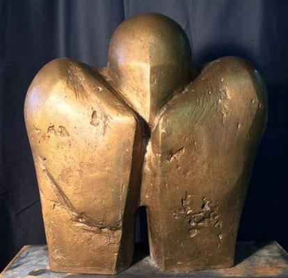 Heimkopf Bronze 44 x 43 cm
