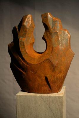 Eisen-Vollguss 32 x 28 cm