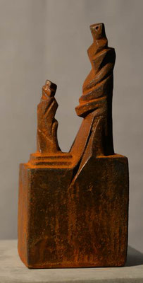 kleiner Adept Eisen-Vollguss 22 x 9 cm