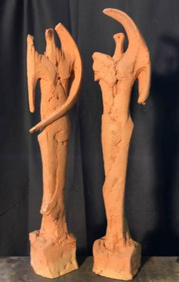 Terracotta 54 x 14 cm