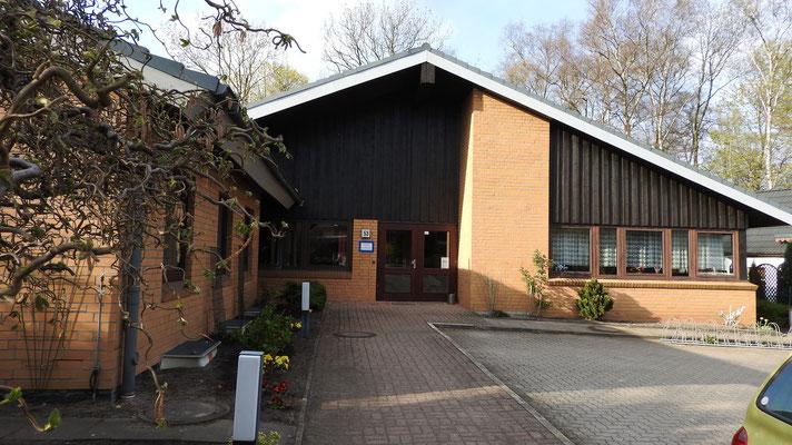 Hier findet unser Seniorentreff statt (Kirchenstr. 53) / Sozialwerk Norderstedt e.V.