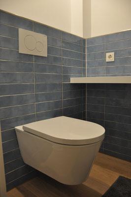 Fliesenarbeiten - WC 7,5x30