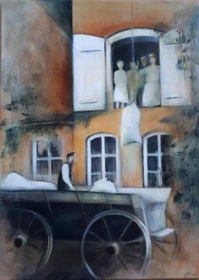 Ackenhusen Bäckerei Gemälde von Marianne Ehmke
