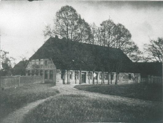 Brenners Haus vor dem großen Brand 1915, heute Haus des Gastes - Brenners Hoff (Foto Private Sammlung)