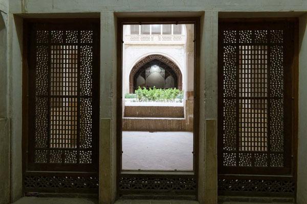 La porte, Kashan, Iran