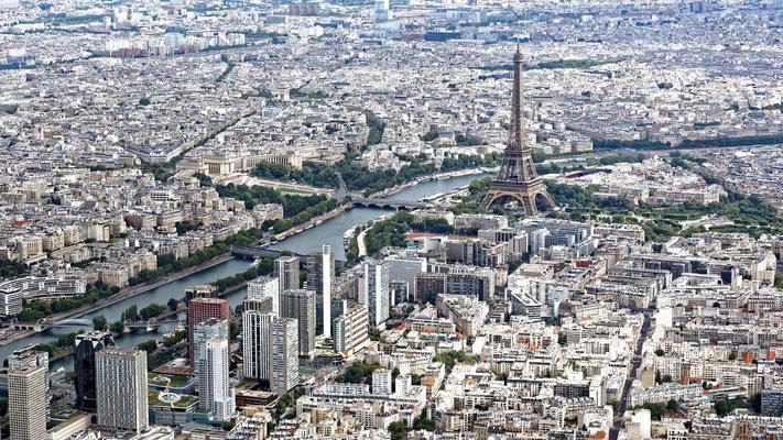 Tour Eiffel et front de Seine, Beaugrenelle