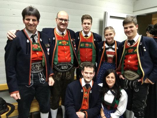 Georg, Michael, Stefan, Anna, Jonas, Sebastian und Magdalena