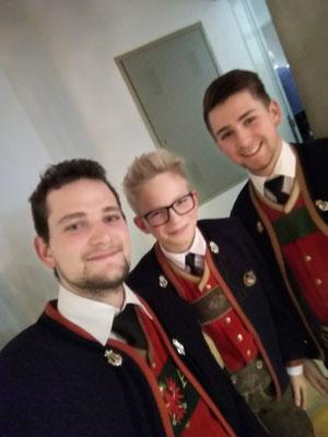 Sebi, Lorenz und Jojo