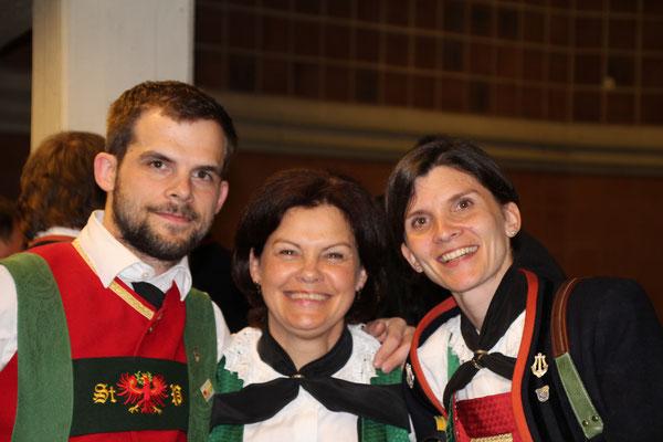 Stephan Pichler, Manuela Pichler und Melanie Pranger