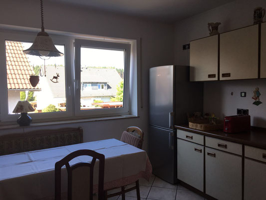 Ein Ausschnitt der Küche Ihrer Ferienwohnung.