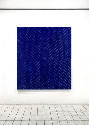 青い縞模様 Blue Stripe 2015