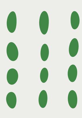 Knead_twelve Green White 2021