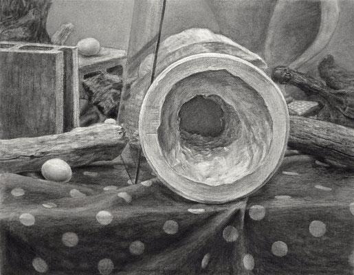 石膏像の底 Bottom of Plaster Figure 2008
