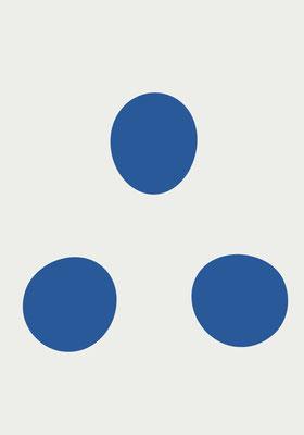 Knead_Three Blue White 2021