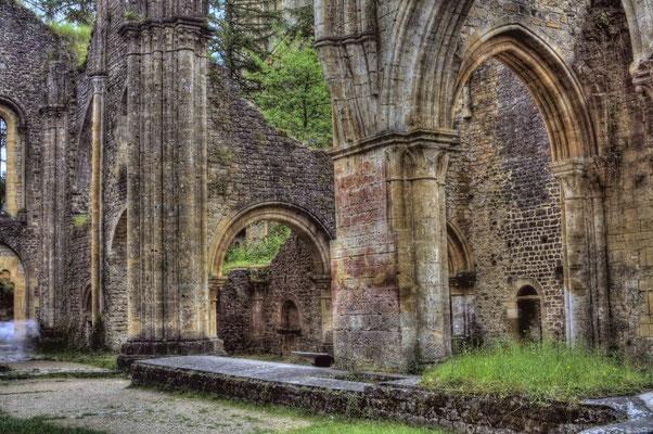 Peter: Klosterruine 1