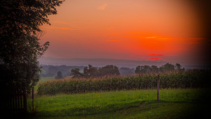 Peter: Bavarian sunset