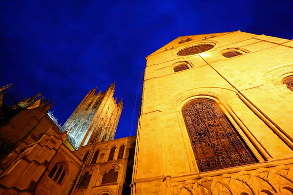 Peter: Canterbury Cathedral Blue Hour I