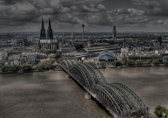 Köln Panoramablick